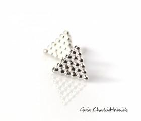 Kolczyki Triangles Mini