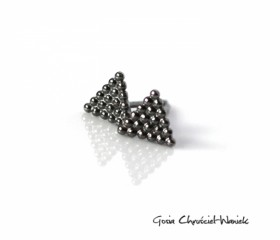 Triangles Mini Black