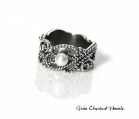 """Srebrny pierścień """"Hope"""""""