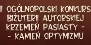 Konkurs Krzemień Pasiasty - Kamień Optymizmu