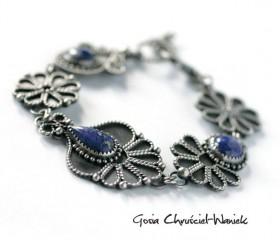 Lapis lazuli – bransoleta