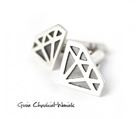 "Spinki ""Diamonds"""