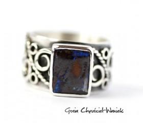 Prostokątny opal