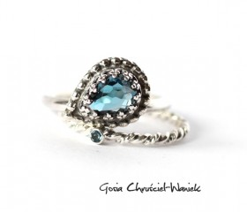 Duet – London Blue Topaz