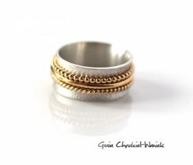 "Obrączka ""Gold & Silver"""