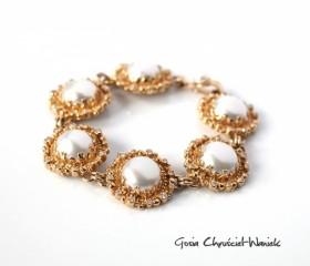 Perły, brylanty & złoto