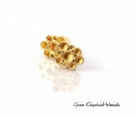 Kolczyki Tubes Gold