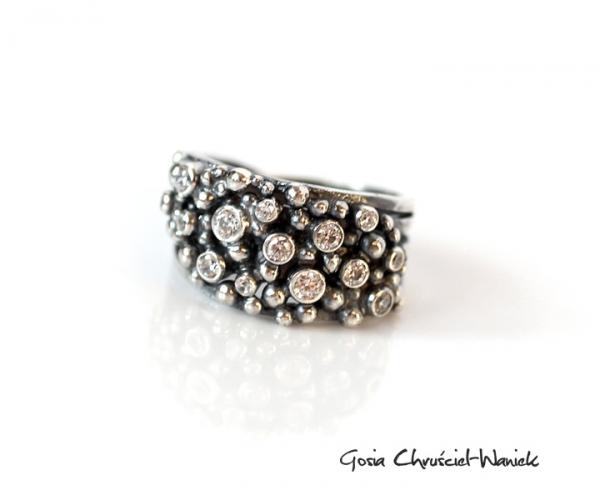 pierścionek sprężynka
