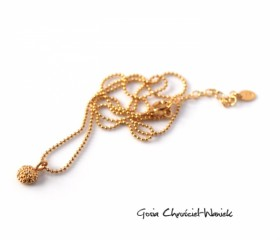 Naszyjnik Mini Nautilus Gold