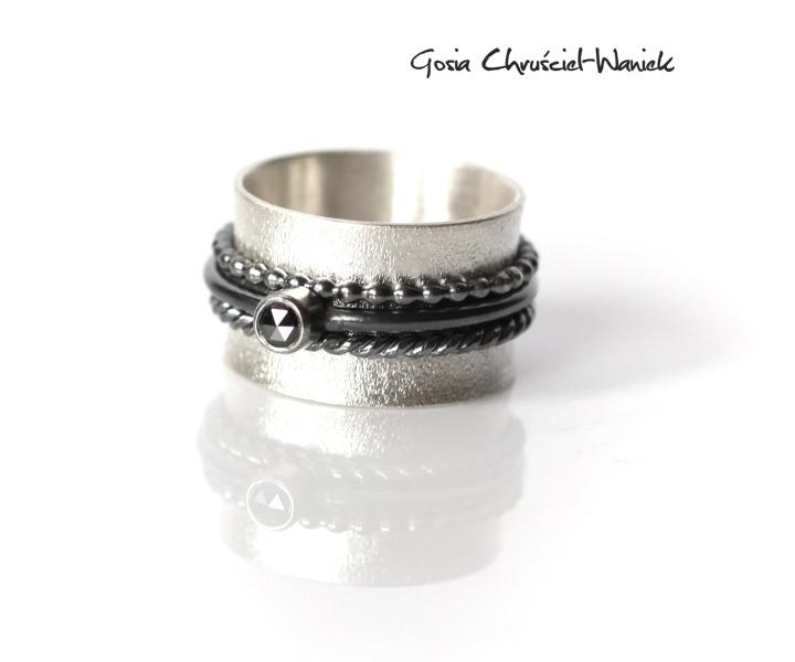 7e81fec4f406ce Karbonado, czyli czarny diament | Gosia Waniek - Biżuteria