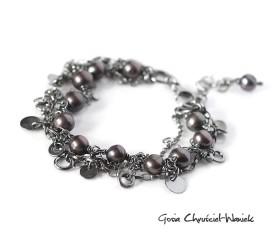 Gypsy Queen – bransoleta z perłami