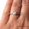 Słodkowodna perła w srebrze