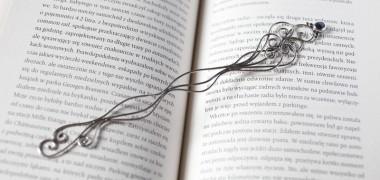Srebrne zakładki do książek