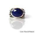 Pierścień z Lapisem Lazuli