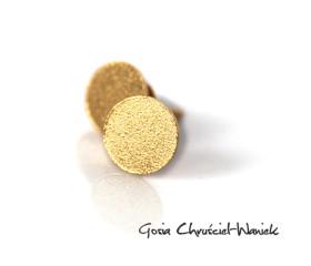 Kolczyki Circle Gold