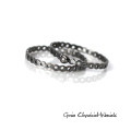 Ażurowe, srebrne pierścionki