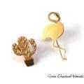 Przypinki, piny srebrne złocone