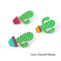 Broszki kaktusy