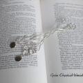 Prezent ślubny - zakładki do książek