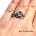Retro pierścionki ze srebra