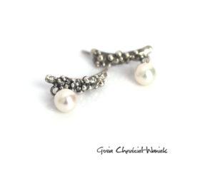 Sztyfty Symbiosis z perłami