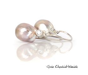 Barokowe perły w srebrze