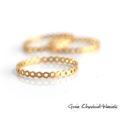 Ażurowe pierścionki ze złoconego srebra