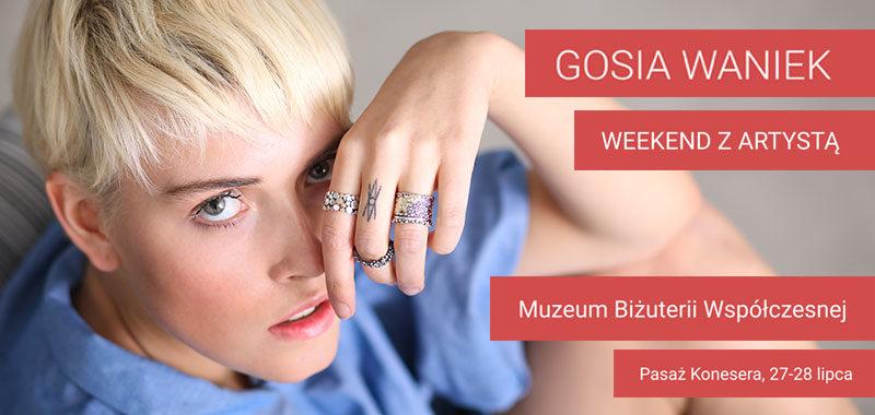 Biżuteria Gosi Waniek w Muzeum Biżuterii Współczesnej w Centrum Koneser w Warszawie