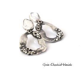 Morskie opowieści – kolczyki z perłami
