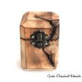 Pudełko z topoli na biżuterię
