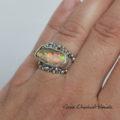 Piękny opal i kuleczki
