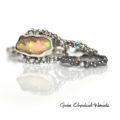 Srebrne pierścionek z kolekcji Symbiosis