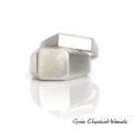 Minimalistyczne srebrne sygnety
