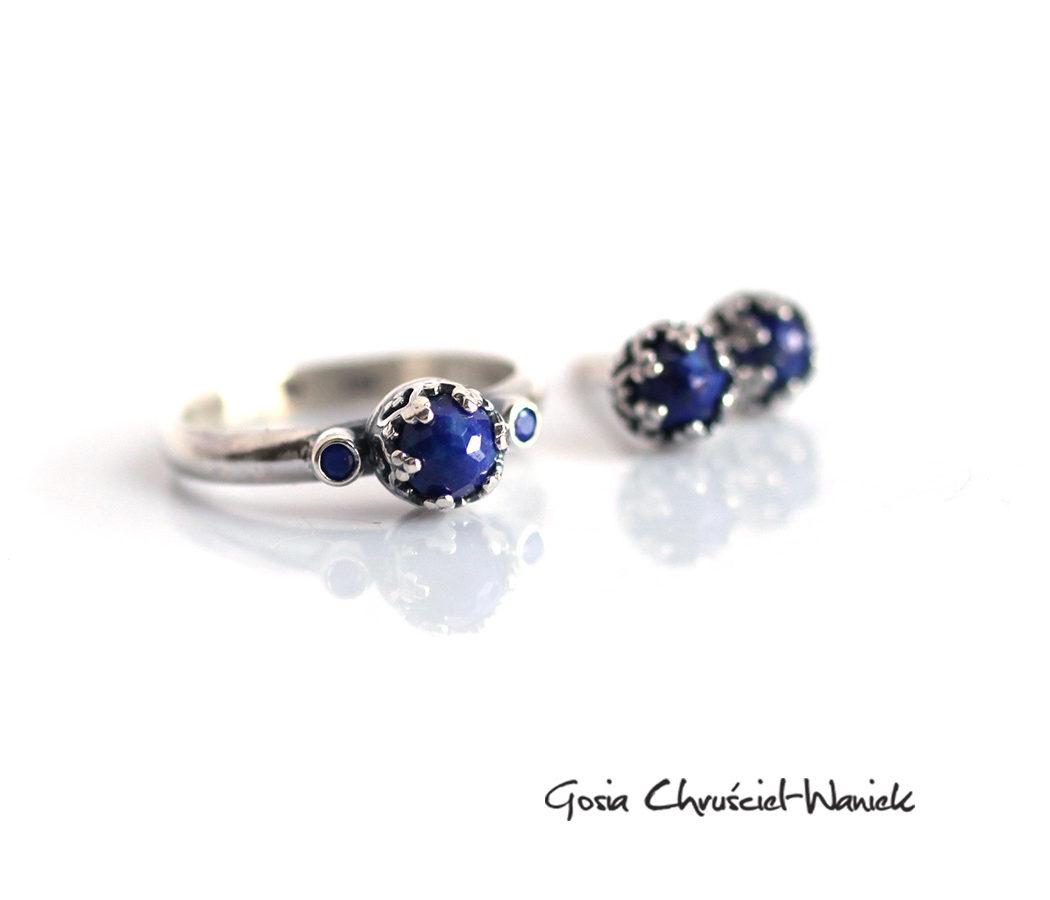 Lapis Lazuli i srebro