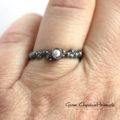 Srebrny pierścionek z hodowaną perełką