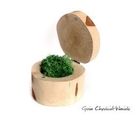 Brzoza – ręcznie robione pudełko