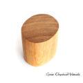 Drewniane pudełko z dębu egzotycznego