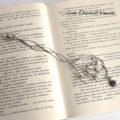 Srebrna zakładka do książki