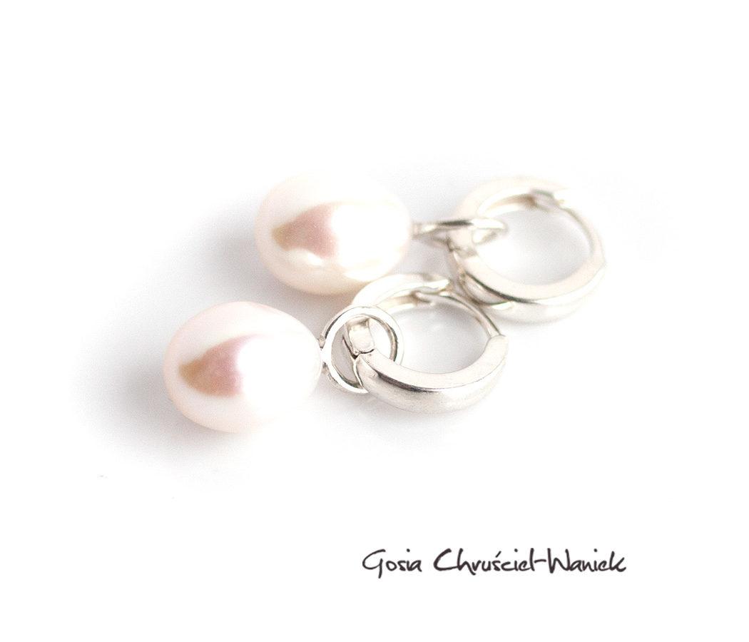 Srebro i perły hodowane