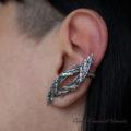 Srebrna nausznica na ucho