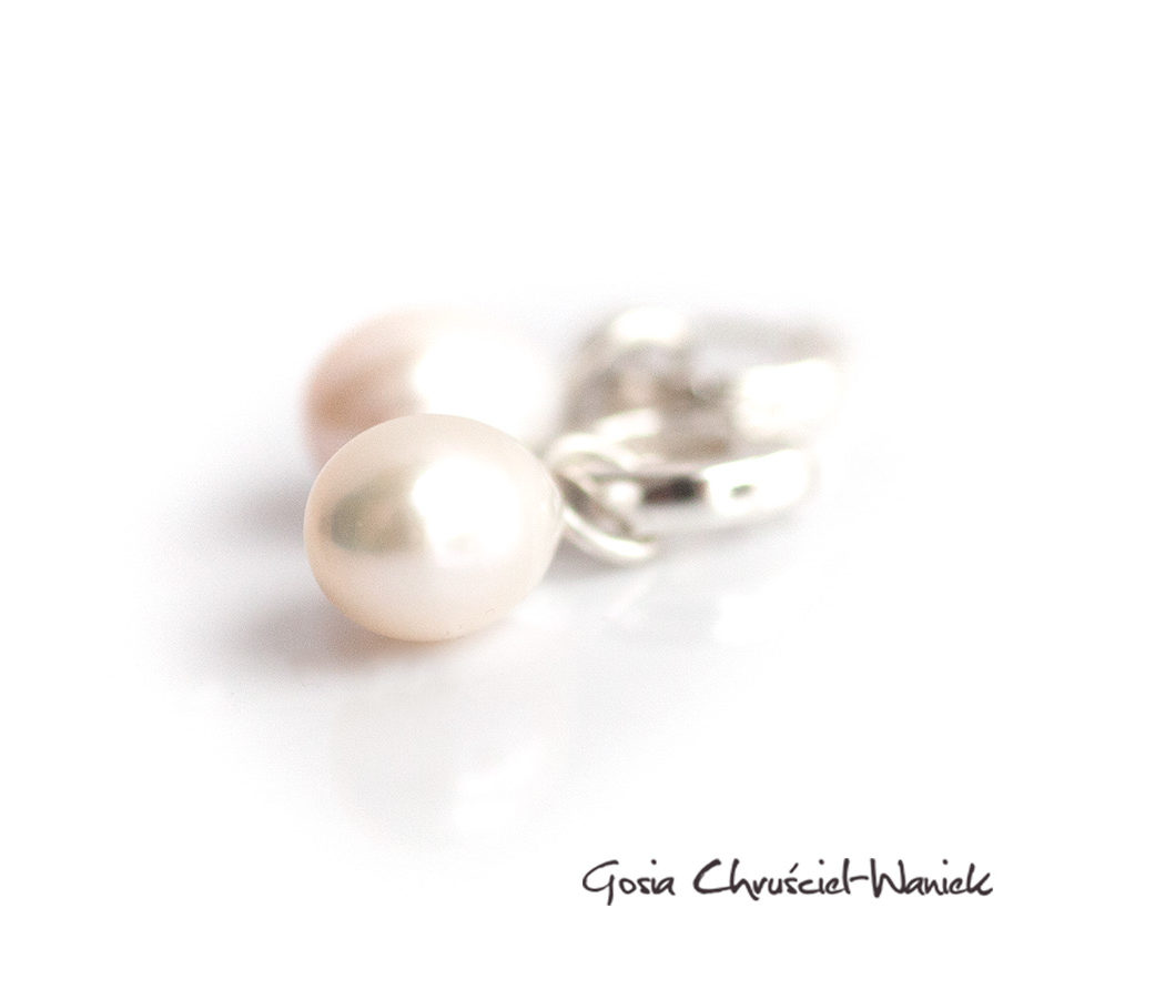 Klasyczne perły w srebrze