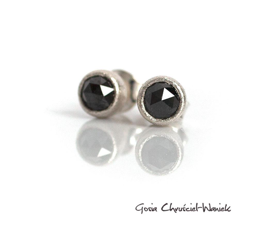Czarne diamenty w srebrze