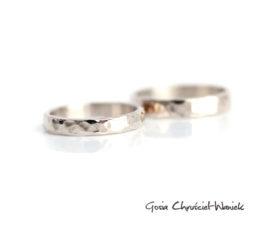 Białe złoto – obrączki ślubne