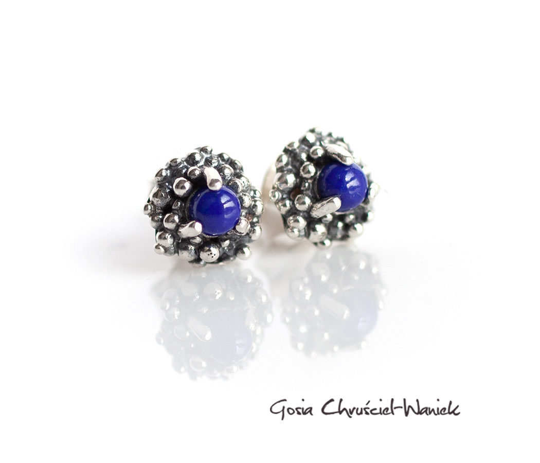 Lapis lazuli w srebrze