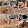 Ręcznie robione ślubne obrączki